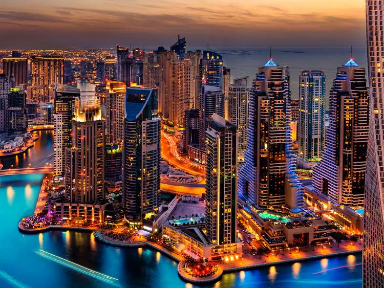 Vue de Dubai