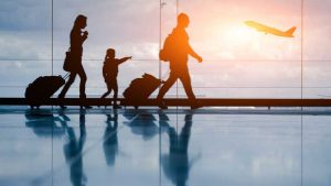 Une famille partant en expatriation