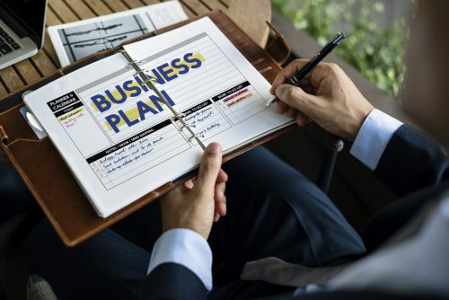 Rédaction d'un business plan